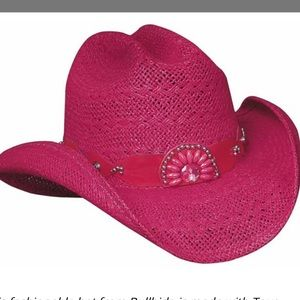 BullHide pink cowgirl/ cowboy hat size M